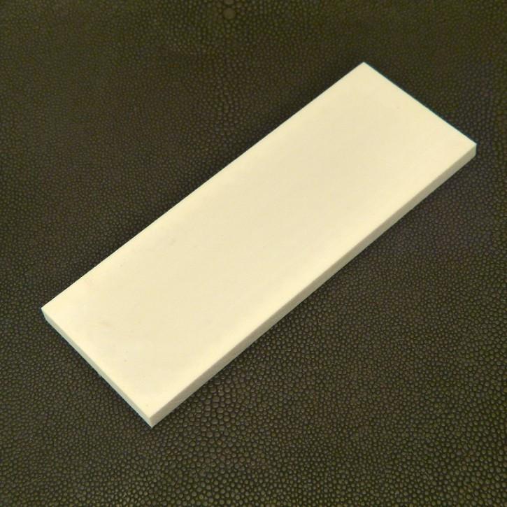 Kasein-Platte ca. 75 x 35 x 6mm
