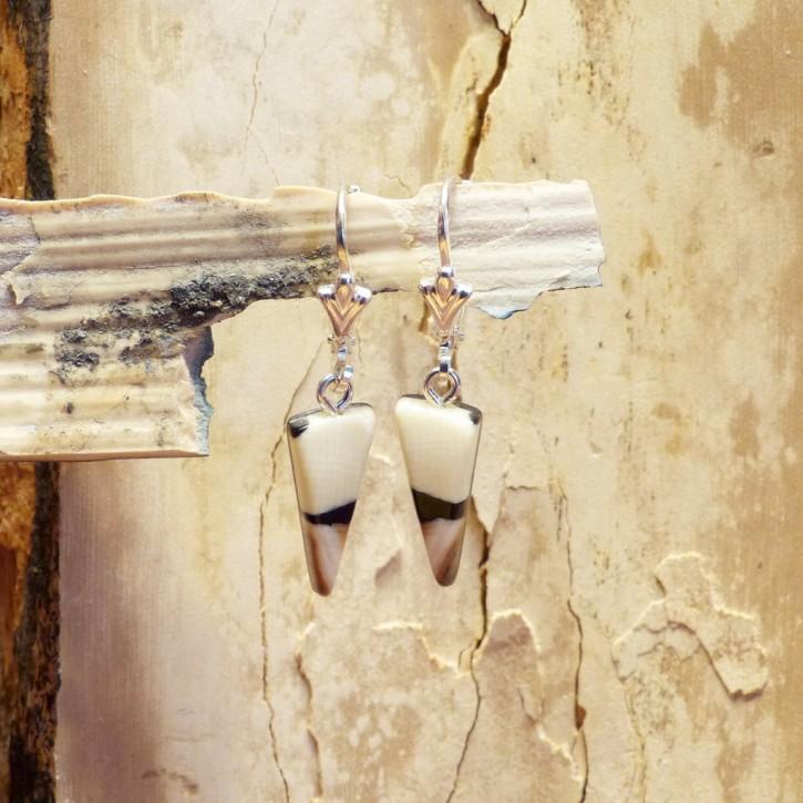 Ohrhänger Mammut-Elfenbein