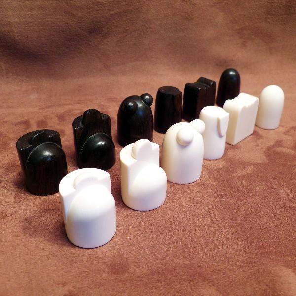 Schachfiguren arabische Form