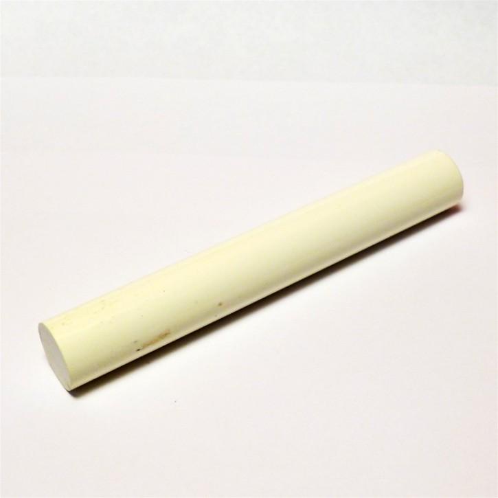 Pen blank Polyester weiß 17 x 120mm