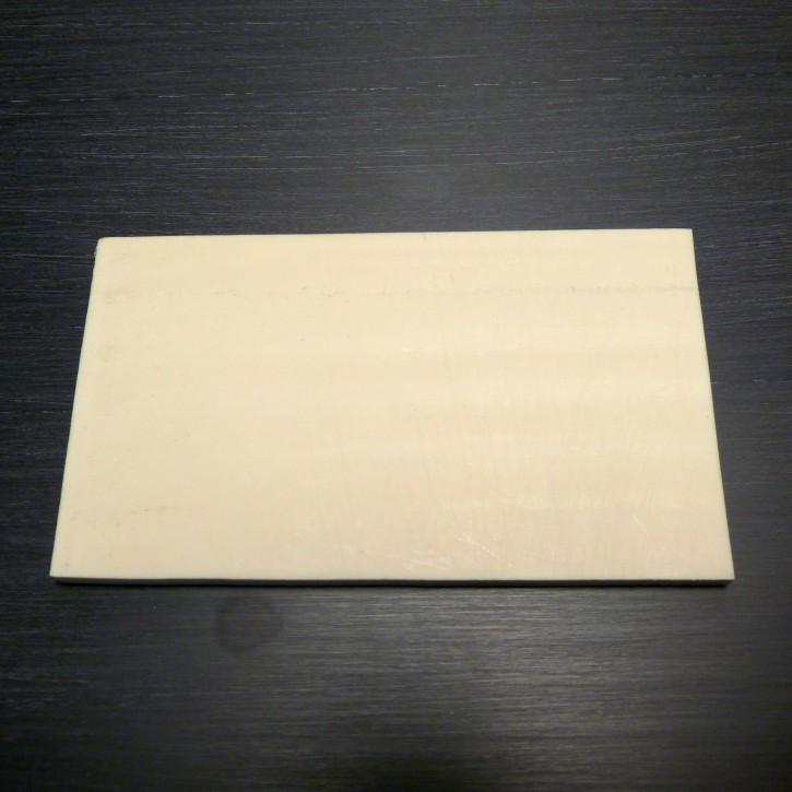 Kasein-Platte ca. 180 x 100 x 5,2-5,5mm