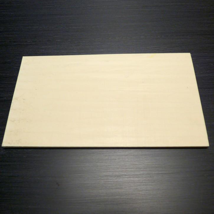 Kasein-Platte ca. 120 x 70 x 5,2-5,5mm
