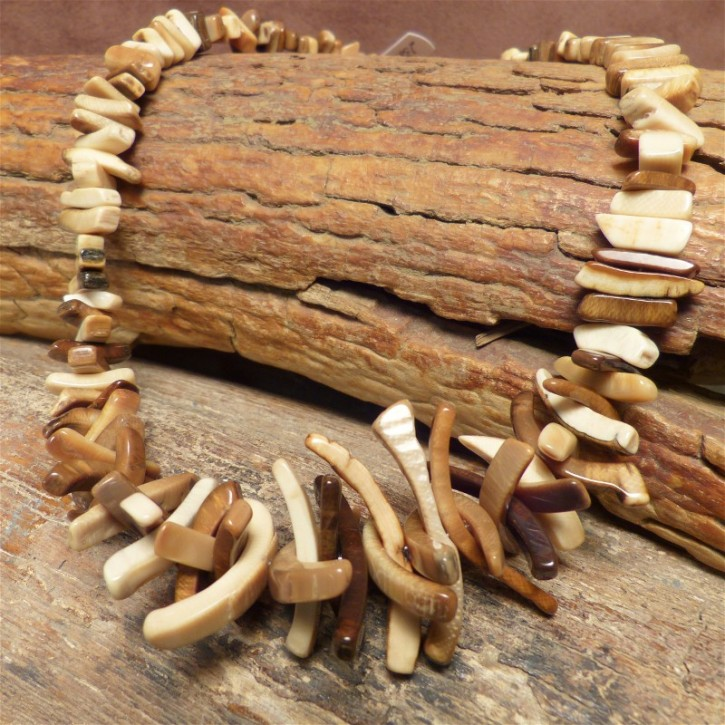 """""""Astkette"""" natur aus Mammut-Elfenbein"""