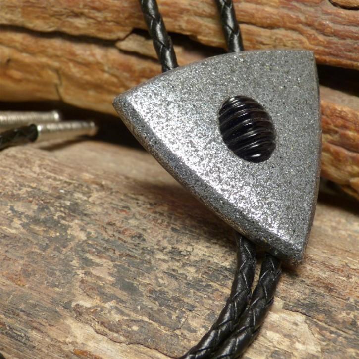Bola Metall mit schwarzem Onyx