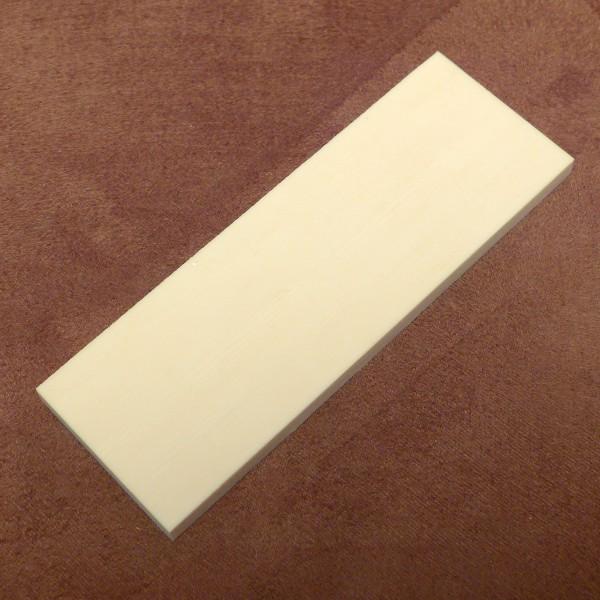 Kasein-Zuschnitt ca. 105 x 36 x 5,5 bis 6mm