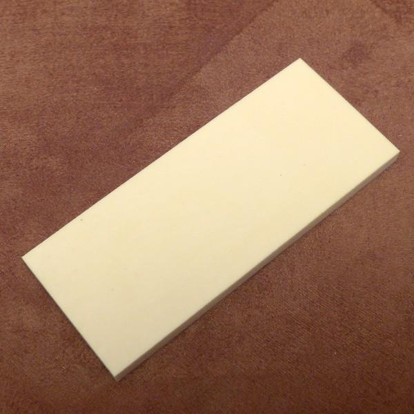 Kasein-Zuschnitt ca. 120 x 52 x 6 mm