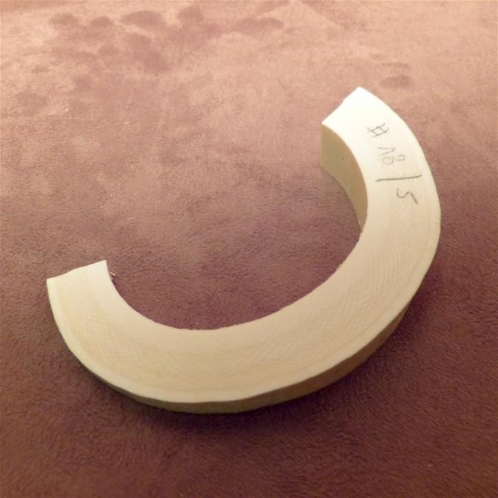 Hohlungsabschnitt, ca. 18 mm dick