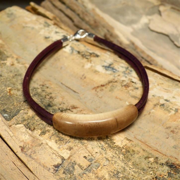 Armband mit braunem Mammut