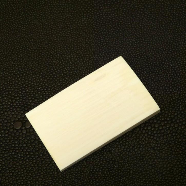 Platte ca. 53,5 x 32,5 x 5-7,3mm