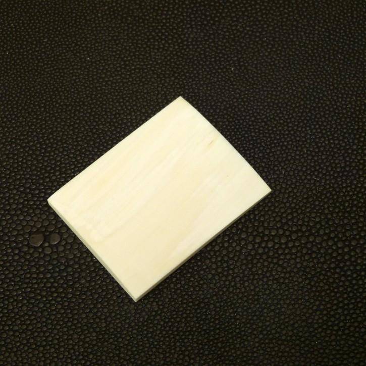 Platte ca. 46,6 x 37 x 4,2-5,4mm