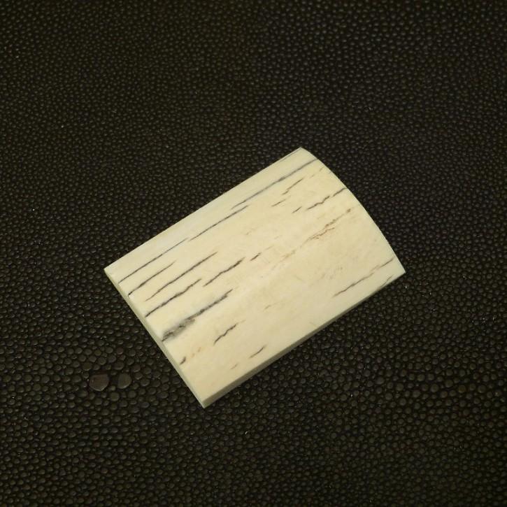 Platte mit Rinde ca. 47,3 x 35,3 x 7,3-9,2mm
