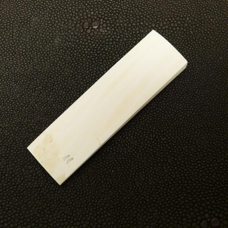 Bogenplatte, ca. 77 x 22 x 6,6-2,2mm