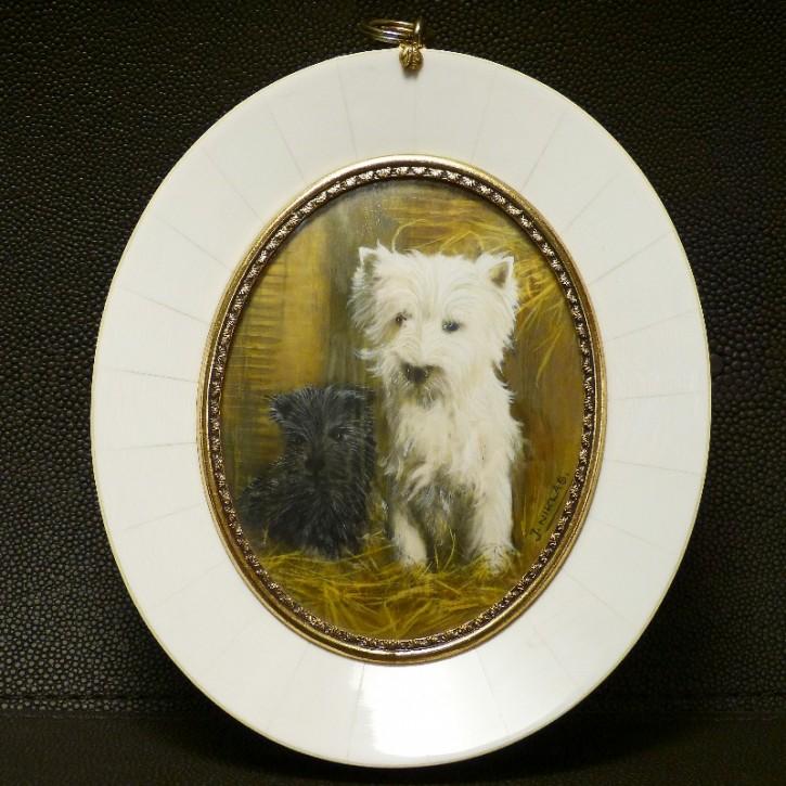 "Malerei ""West Highland Terrier"""