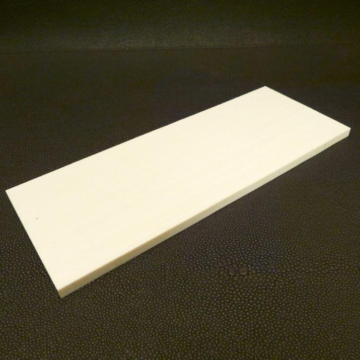 Kasein-Platte ca. 185x70x6mm
