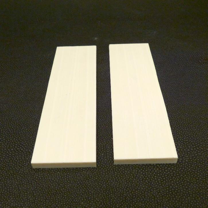1 Paar Kasein-Platten ca. 125x37x6mm