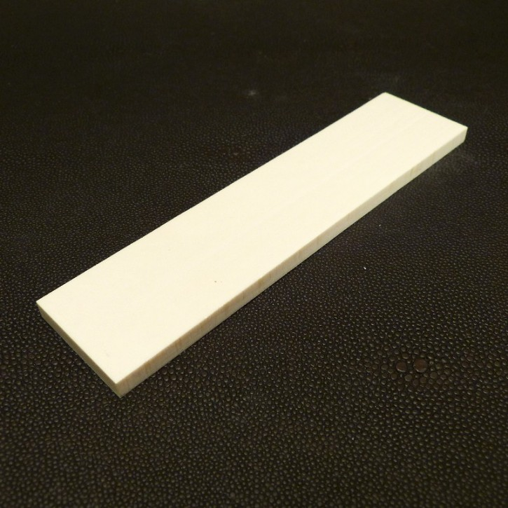 Kasein-Platte ca. 150x36x6mm