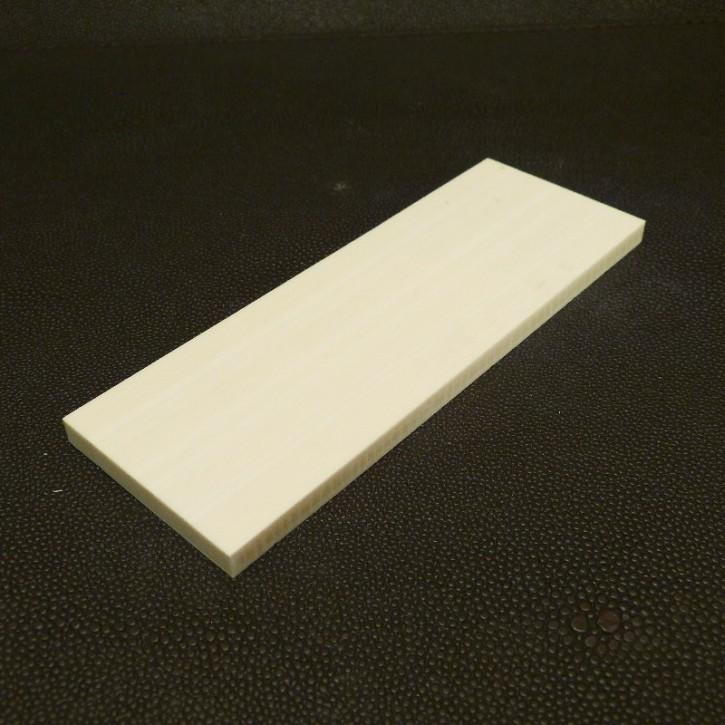 Kasein-Platte ca. 130x46x6mm