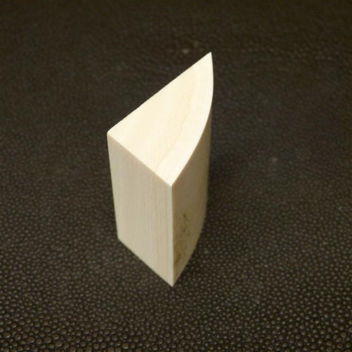 Dreikant gerundet L ca.42,5, B ca. 32, H ca. 19,5mm
