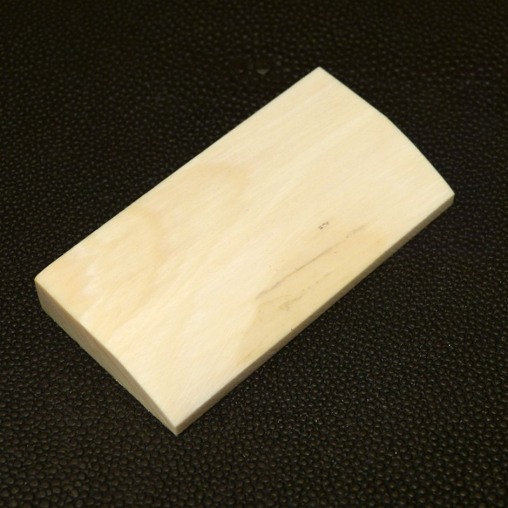 Platte seitlich abgeschrägt ca.64x32,5x9,5mm