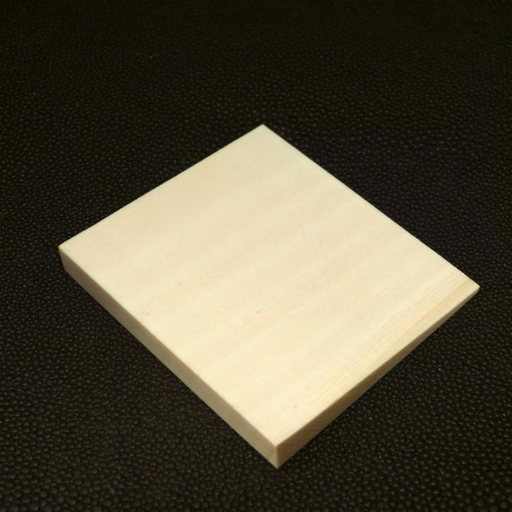 Platte abgeschrägt L ca. 57mm, B ca. 62,5mm