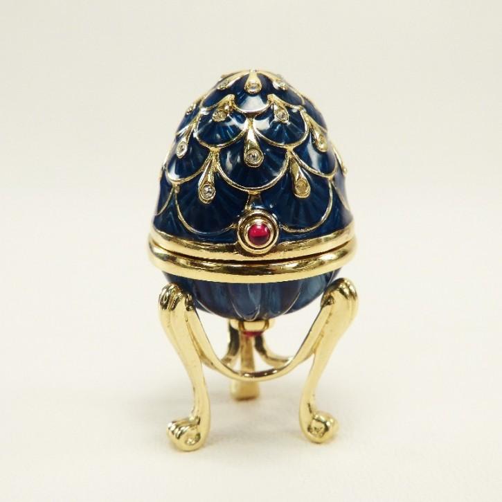 """Pillendose """"Ei nach Fabergé"""