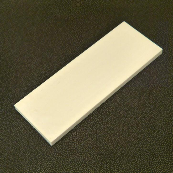Kasein-Platte ca. 125 x 47 x 6mm