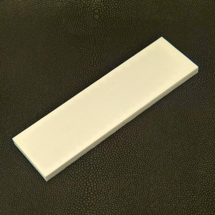 Kasein-Platte ca. 123 x 35 x 5,7mm