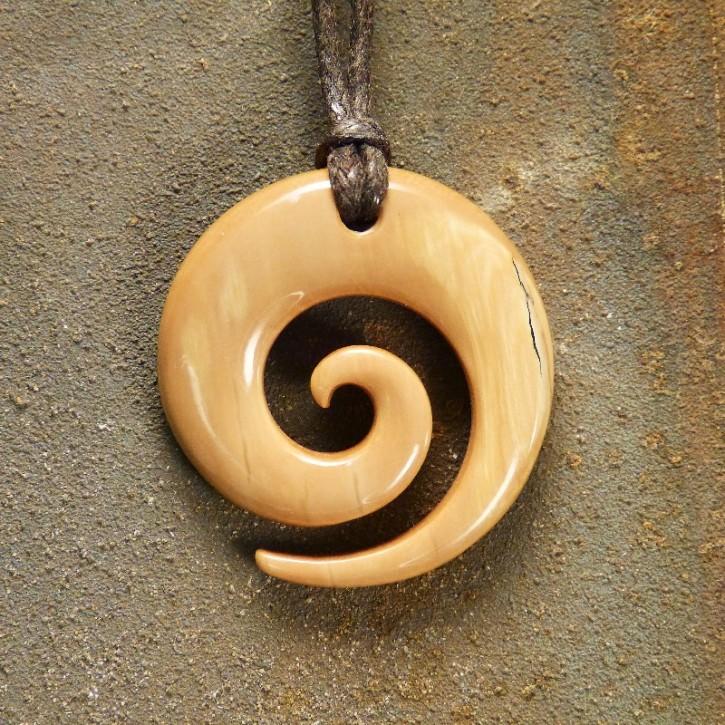 """Hei Matau """"Spirale"""" ca. 34mm"""