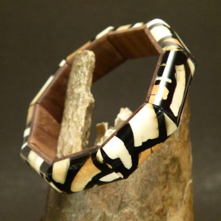 schmales Mammut-Armband mit tollen Färbungen