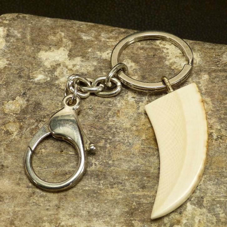 Schlüsselanhänger Zahnform