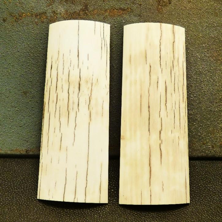 Schalenpaar mit Außenrinde ca. 93 x 36 x 9,5mm