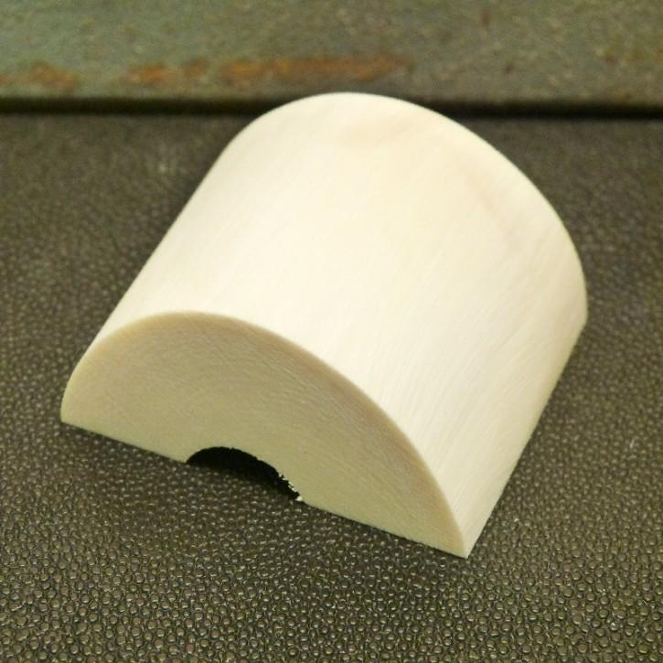 Abschnitt mit gewölbter Oberfläche Länge ca. 44mm