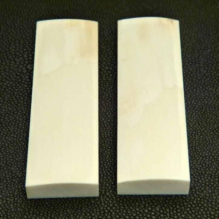 Schalenpaar ca. 88 x 27 x 6,5 bis 10 mm