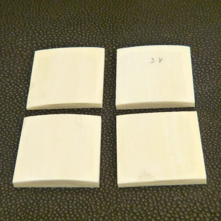 Set aus 4 Platten ca. 26,5 x 25 x 3-3,5mm