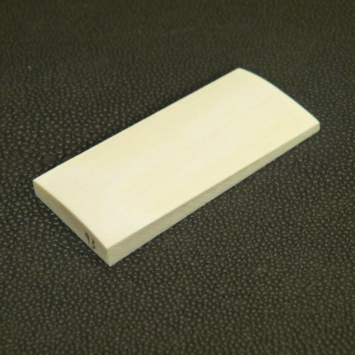 Platte ca. 59 x 27 x 4 bis 6,2mm