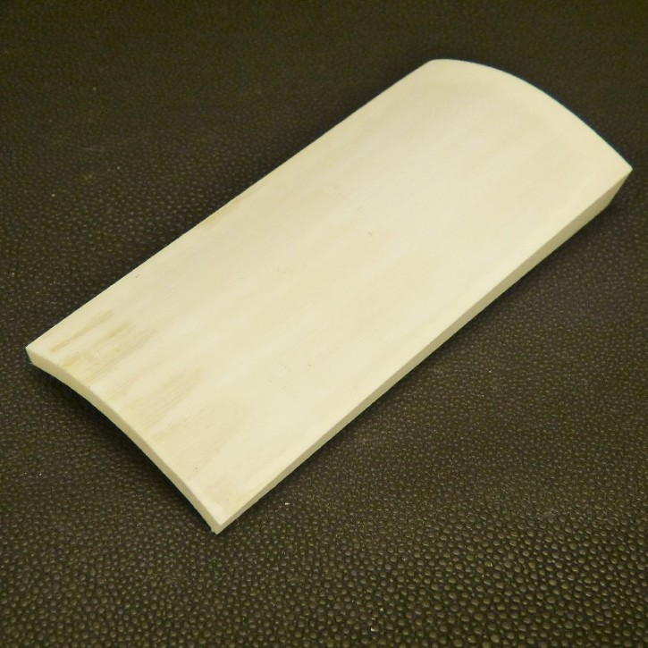 gebogene Platte ca.  103 x 47 x 5-12mm