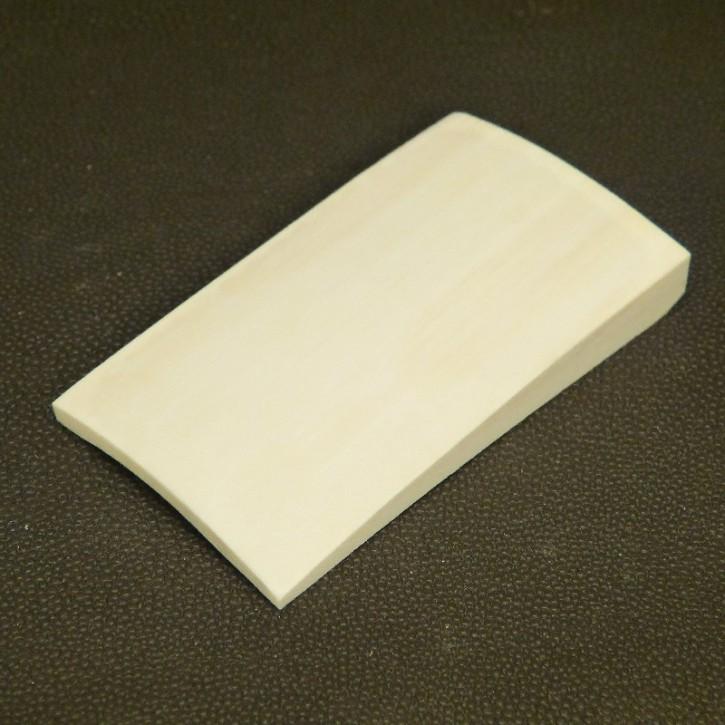 gewölbte Platte ca. 79 x 46,5 x 3,5-9,5mm