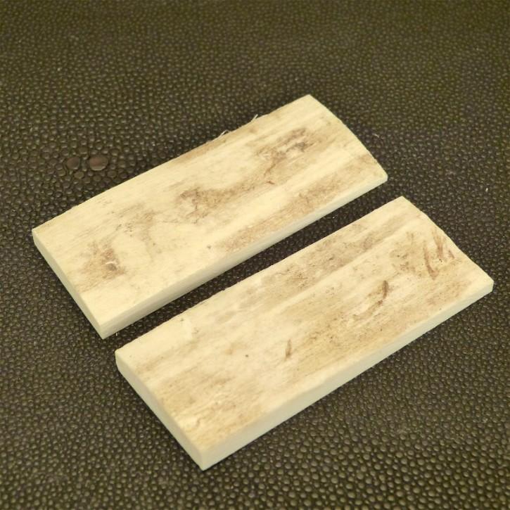 Schalenpaar ca. 65,5x26,5x3-6,2mm