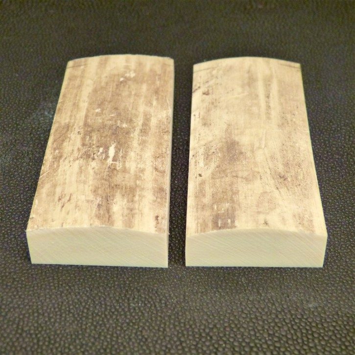 Schalenpaar ca. 90 x 36 x 7,5 - 14 mm