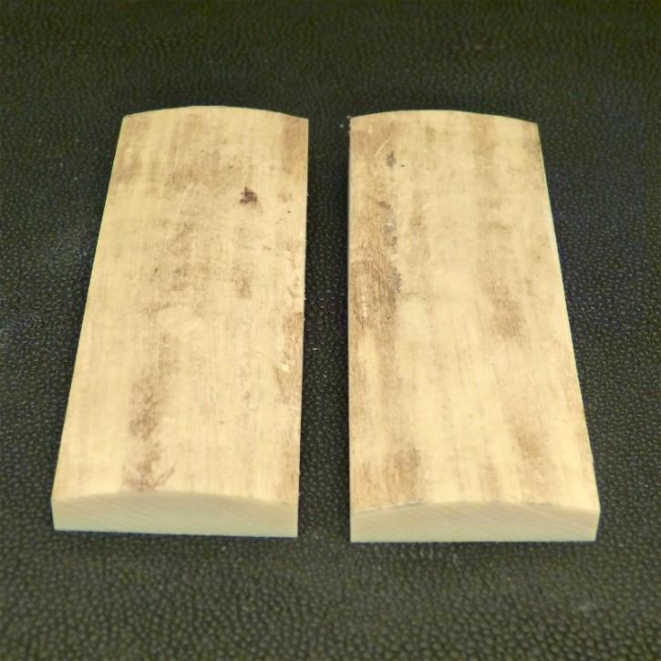 Schalenpaar ca. 91 x 33,5 x 8 - 13,5 mm