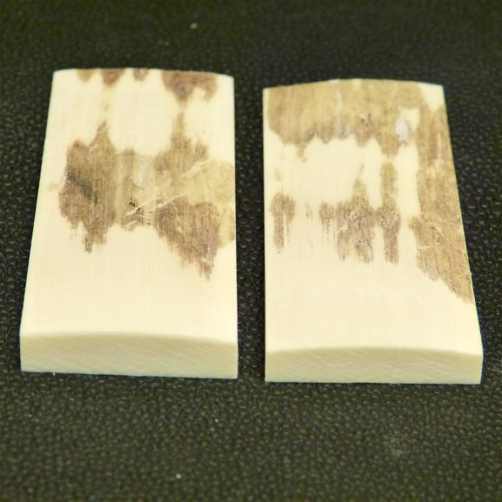 Schalenpaar ca. 60,5 x 25,5 x 2,5 - 6 mm