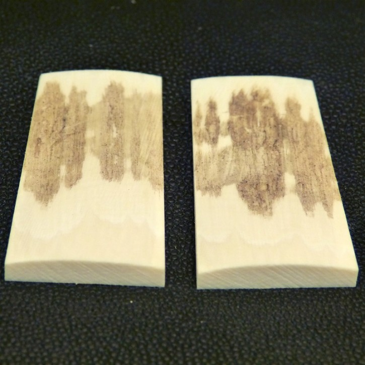 Schalenpaar ca. 58,5 x 24,5-27mm x 2,2 - 5,5mm