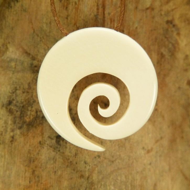 "Hei Matau ""Spirale"" hell"
