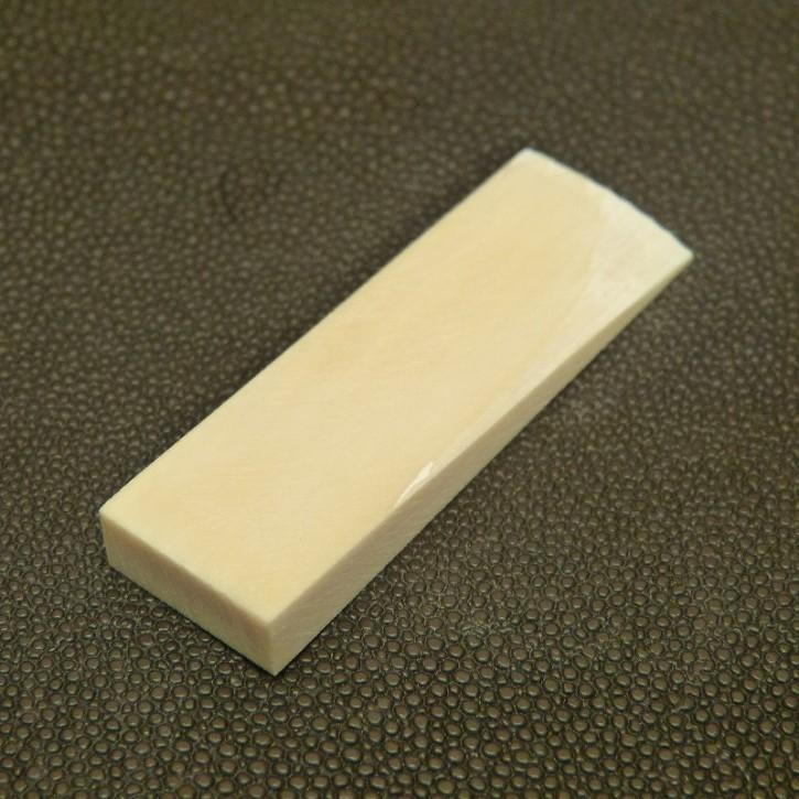 Mammut-Platte konisch ca. 58x18,5x3 bis 7mm