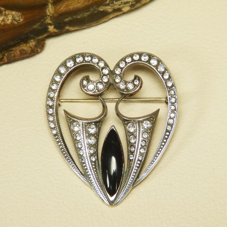 Art Deco Brosche aus Silber 925/-