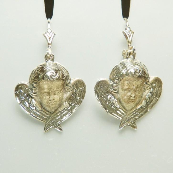 Silberohrringe Engel/Putte