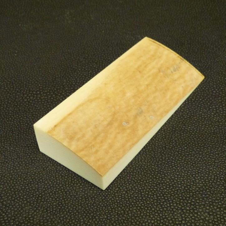 Schalenplatte ca. 80x35x10-17mm