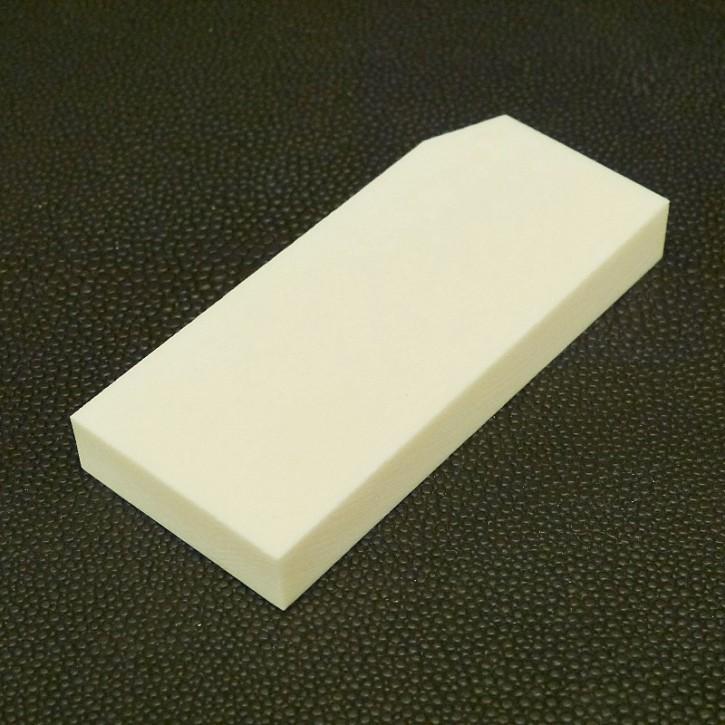 Platte mit starker Struktur ca. 69,5x30x9,3mm