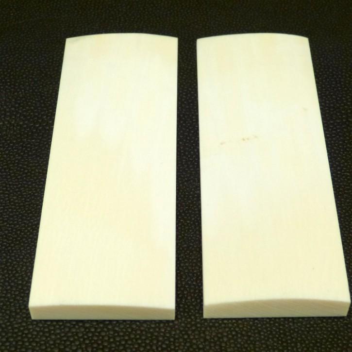 Schalenpaar ca. 102x36x4,5-8mm
