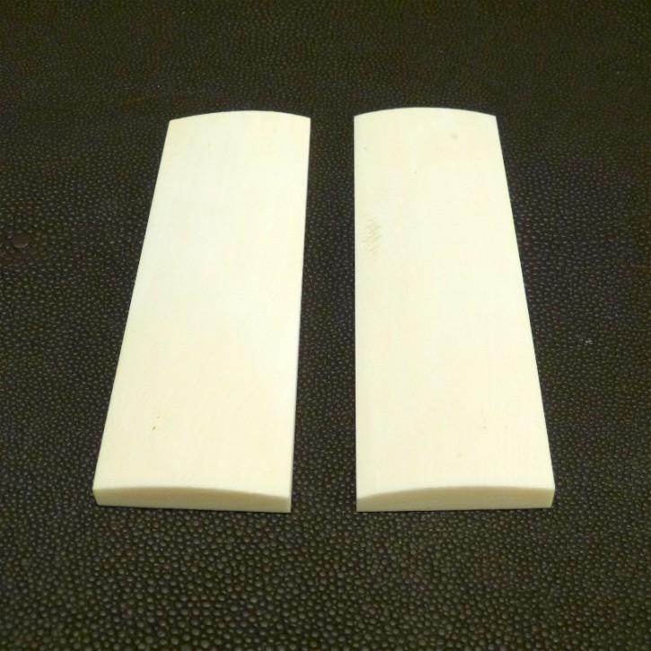 Schalenpaar ca. 101x33-34x4,5-7,5mm